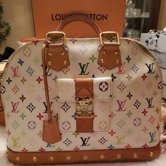 Louis Vuitton Handbags - Louis Vuitton Multicolor Alma GM